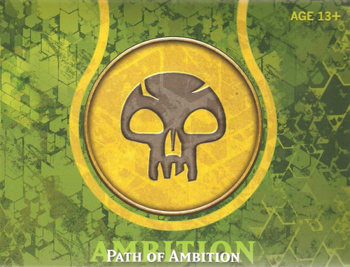 MtG Trading Card Game Theros Path of Ambition (Black) Prerelease Pack [5 Booster Packs, Seeded Pack, Promo Card & More]