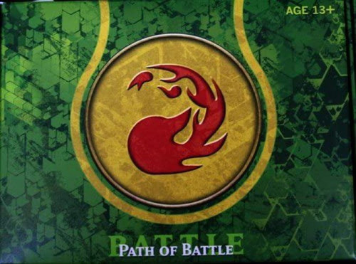 MtG Trading Card Game Theros Path of Battle (Red) Prerelease Pack [5 Booster Packs, Seeded Pack, Promo Card & More]