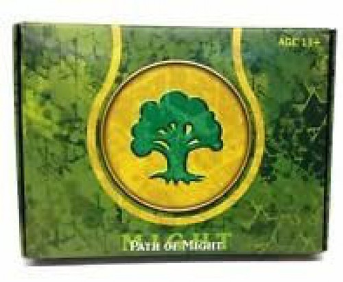 MtG Trading Card Game Theros Path of Might Prerelease Pack [Green]