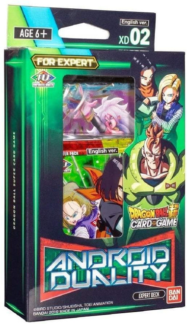 Dragon Ball Super Trading Card Game XD 02 Android Duality Expert Deck