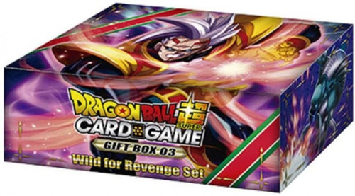 Dragon Ball Super Collectible Card Game Gift Box 03 Wild for Revenge Set [6 Booster Packs & 1 Battle Card!]