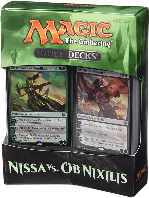 MtG Trading Card Game Nissa vs. Ob Nixilis Duel Decks