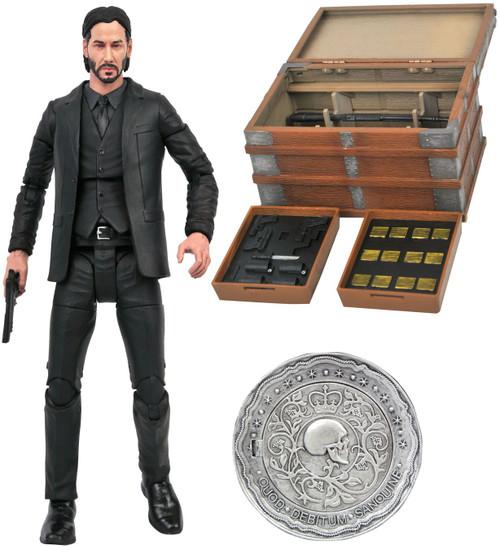 John Wick DELUXE Action Figure Box Set