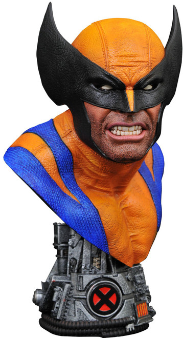 Marvel Legends in 3D Wolverine Bust