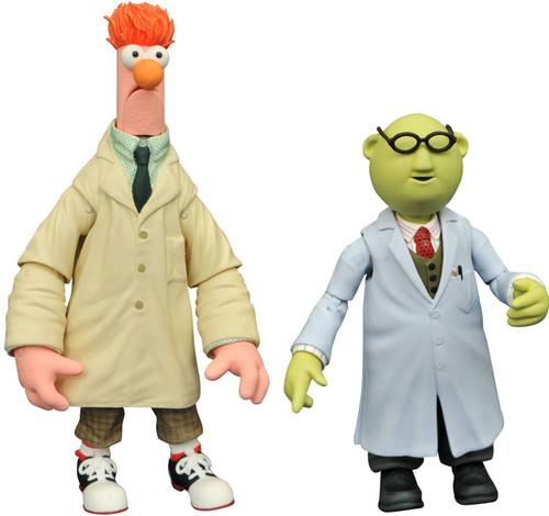 The Muppets Best of Series 2 Bunsen & Beaker Action Figure 2-Pack