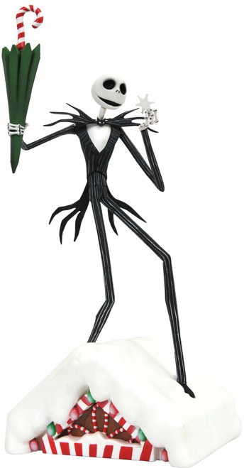 Nightmare Before Christmas What is this? Jack Skellington 11-Inch PVC Statue (Pre-Order ships January)