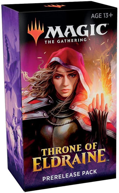 MtG Trading Card Game Throne of Eldraine Prerelease Pack