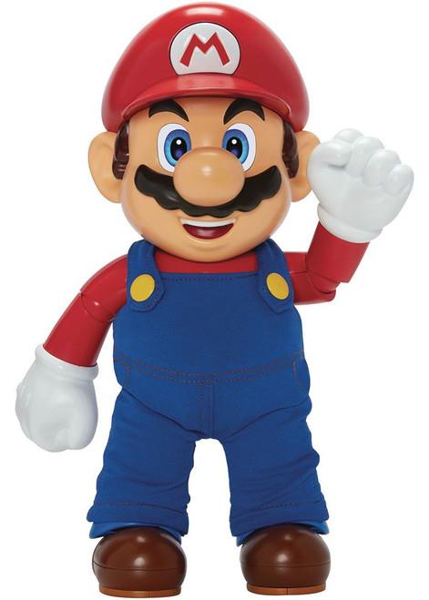 Nintendo Super Mario It's A Me Mario! Talking Deluxe Action Figure
