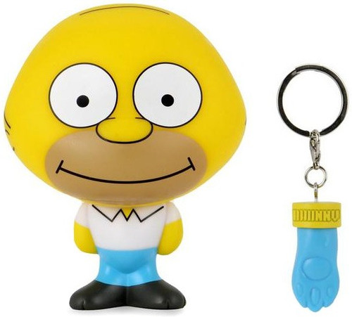 Simpsons BHUNNY Homer Simpson 4-Inch Stylized Figure