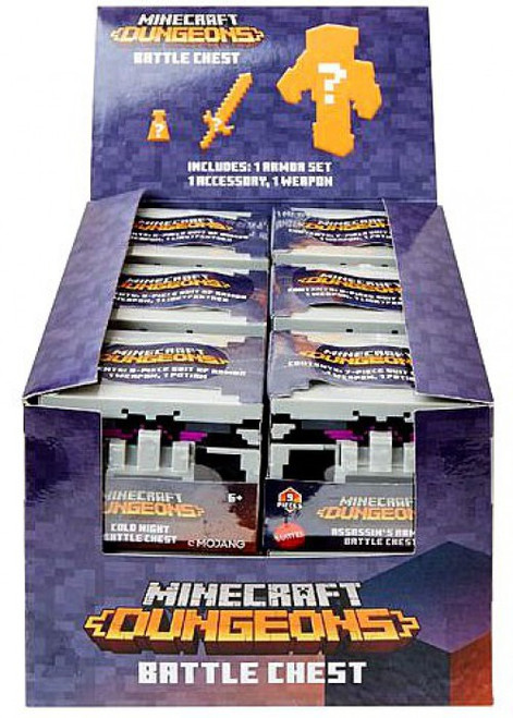Minecraft Dungeons Battle Chest Mystery Box [12 Packs]