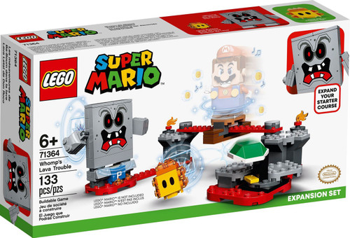 LEGO Super Mario Whomp's Lava Trouble Expansion Set #71364
