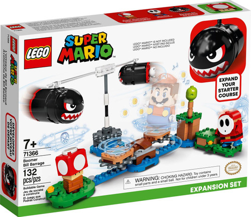 LEGO Super Mario Boomer Bill Barrage Expansion Set #71366