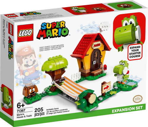 LEGO Super Mario Mario's House & Yoshi Expansion Set #71367