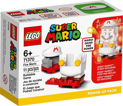 LEGO Super Mario Fire Mario Power-Up Pack Set #71370