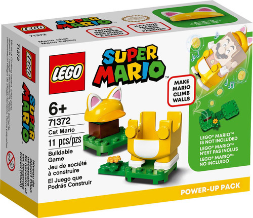 LEGO Super Mario Cat Mario Power-Up Pack Set #71372