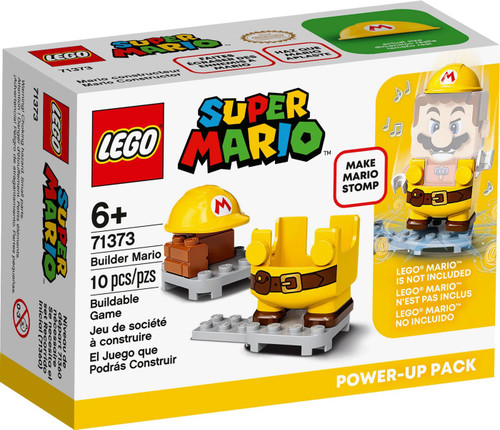 LEGO Super Mario Builder Mario Power-Up Pack Set #71373