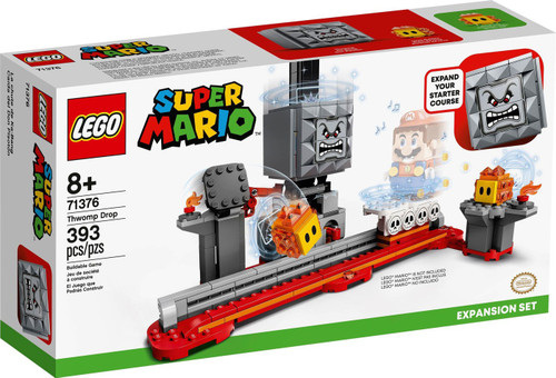 LEGO Super Mario Thwomp Drop Exclusive Expansion Set #71376