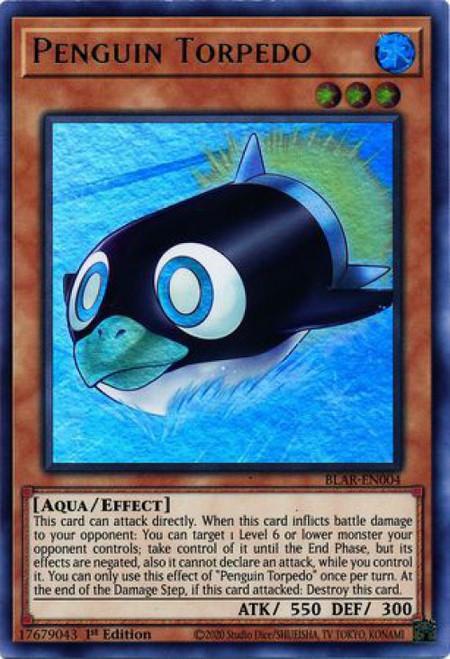 YuGiOh Battles of Legend Armageddon Ultra Rare Penguin Torpedo BLAR-EN004