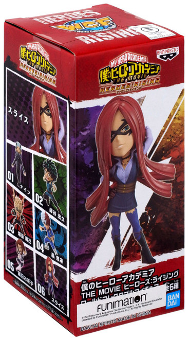 My Hero Academia The Movie Heroes: Rising WCF World Collectible Figure SLICE 2.8-Inch PVC