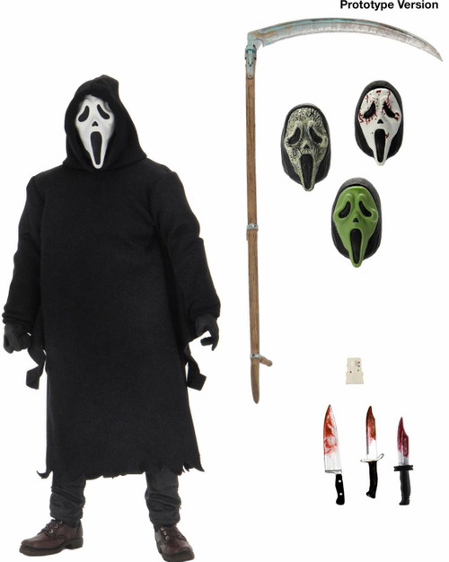 NECA Ghostface Action Figure [Ultimate Version] (Pre-Order ships December)