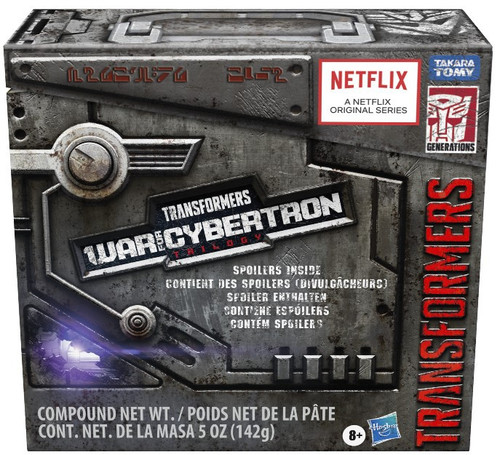Transformers Generations War for Cybertron: Trilogy Spoiler Pack Leader Action Figure [Netflix Series Inspired]