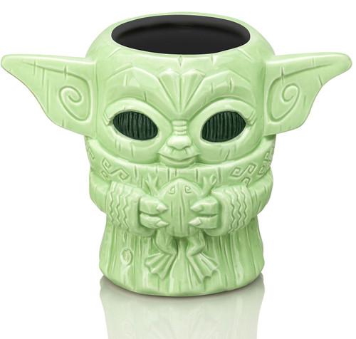 Star Wars The Mandalorian Geeki Tiki The Child Exclusive 4.5-Inch Tiki Glass [Holding Frog]