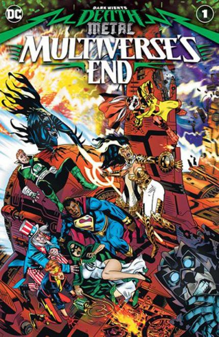 DC Dark Nights Death Metal Multiverse's End Comic Book