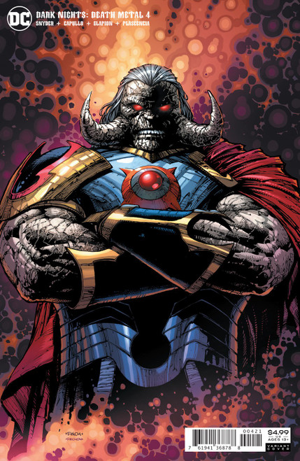 DC Dark Nights #4 of 6 Death Metal Comic Book [Finch Darkseid Variant]