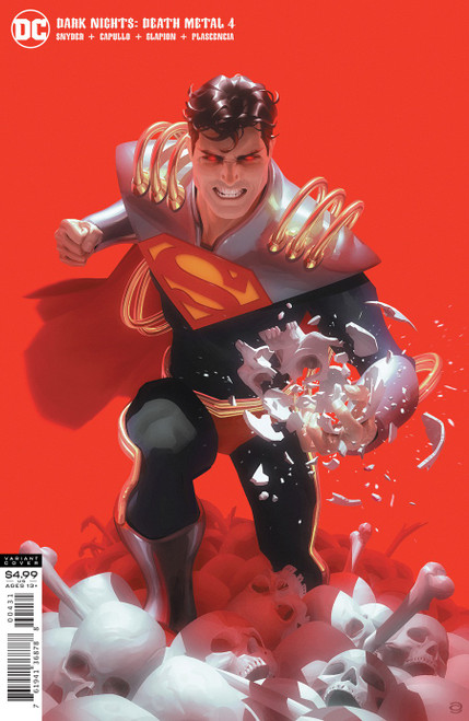 DC Dark Nights #4 of 6 Death Metal Comic Book [Garner Superboy Prime Variant]