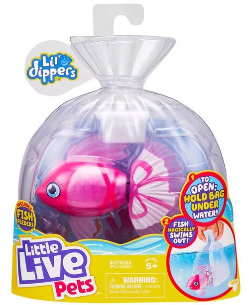 Little Live Pets Lil' Dippers Bellariva Swimming Fish