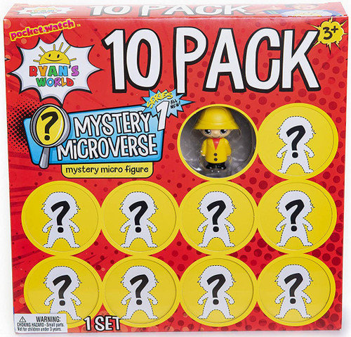 Ryan's World Mystery Microverse Exclusive Micro Figure 10-Pack