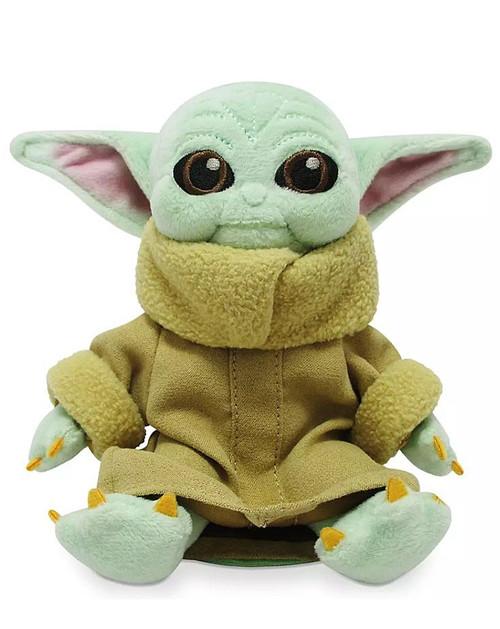 Disney Star Wars The Mandalorian Child Exclusive 5-Inch Magnetic Shoulder Mini Plush [Baby Yoda / Grogu]