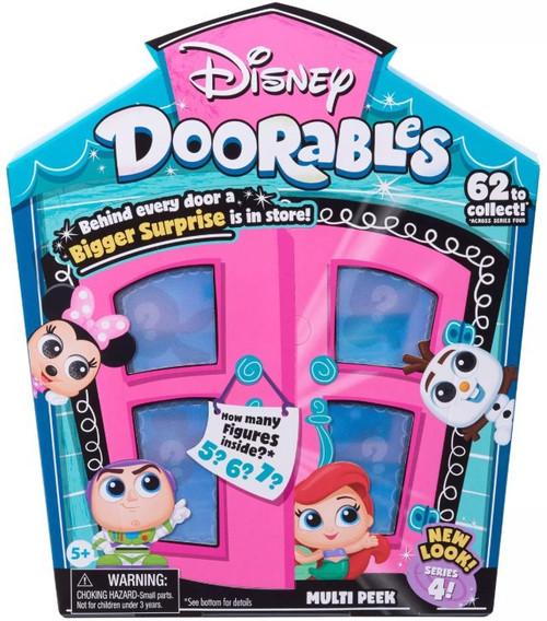 Disney Doorables Series 4 MULTI Peek Mystery Pack [5, 6 or 7 Figures]