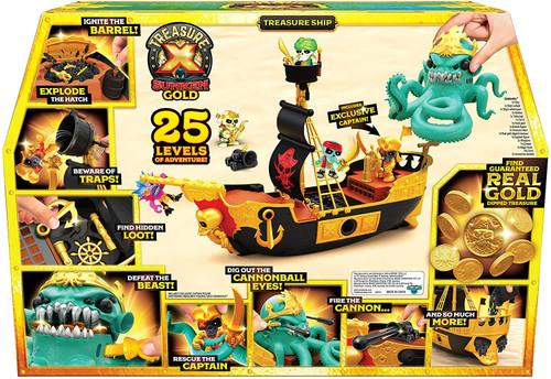Treasure X Series 5 Sunken Gold Treasure Ship Playset