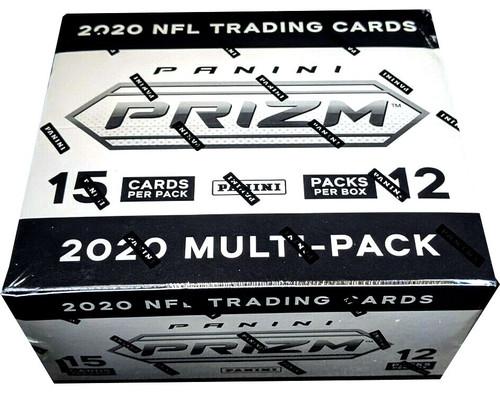 NFL Panini 2020 Prizm Football Trading Card CELLO Box [12 Packs]