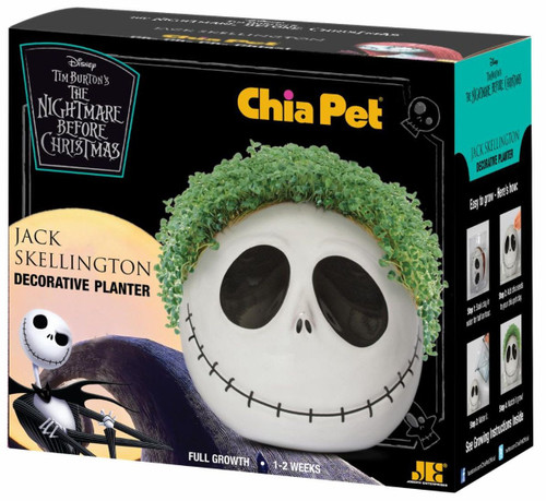 NECA Nightmare Before Christmas Jack Skellington Chia Pet