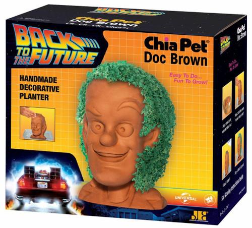 NECA Back to the Future Doc Brown Chia Pet