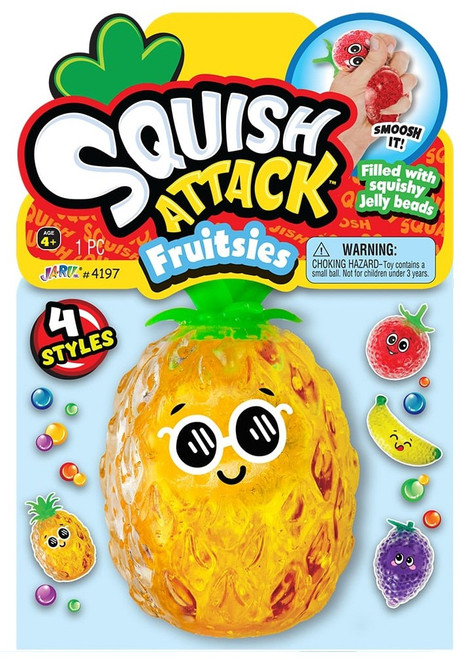 Squish Attack Fruitsies Pineapple Squeeze Toy