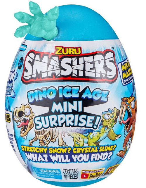 Smashers Series 3 Dino Ice Age RANDOM Dino! MINI Surprise! Mystery Egg