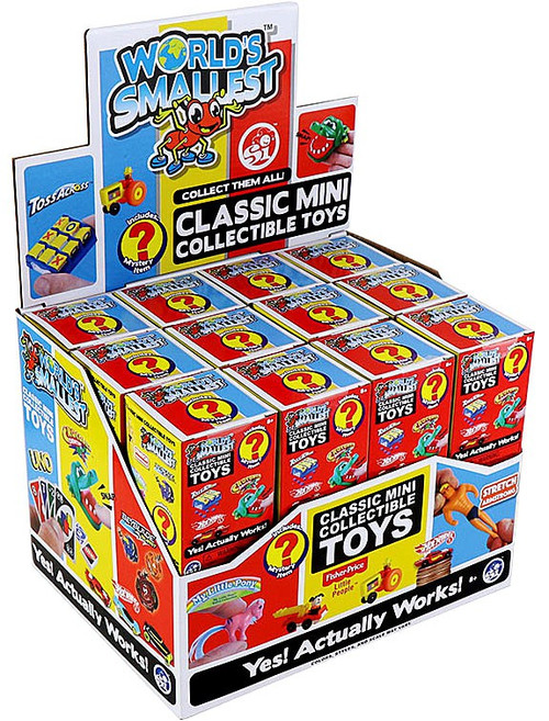 World's Smallest Classic Mini Toys Series 3 Mystery Box [24 Packs]