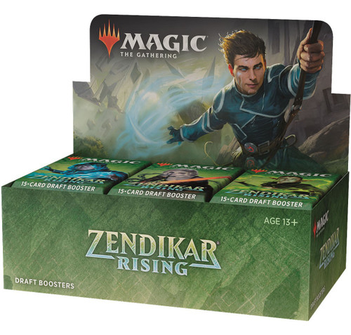 MtG Trading Card Game Zendikar Rising Draft Booster Box [36 Packs]