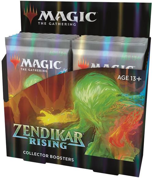 MtG Trading Card Game Zendikar Rising COLLECTOR Booster Box [12 Packs]