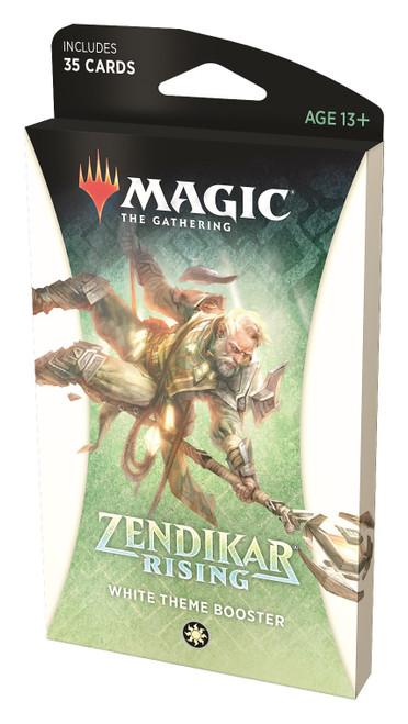 MtG Trading Card Game Zendikar Rising White Theme Booster Pack [35 Cards]