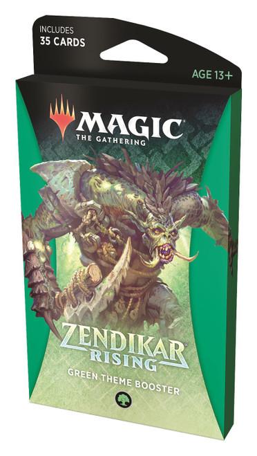 MtG Trading Card Game Zendikar Rising Green Theme Booster Pack [35 Cards]