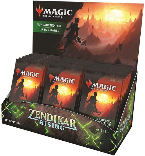 MtG Trading Card Game Zendikar Rising Set Booster Box [30 Packs]