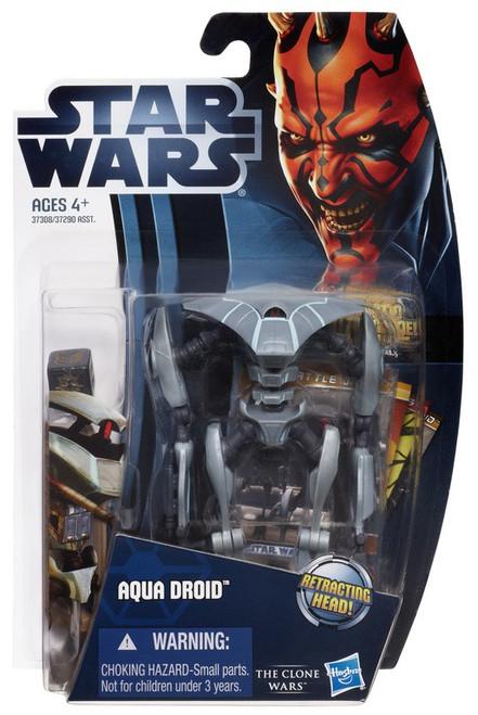 Star Wars The Clone Wars 2012 Aqua Droid Action Figure CW10 [Loose]