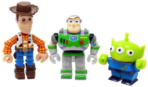 Disney / Pixar Toy Story 2 Gashapon Buzz, Woody & Alien Set of 6 Figures