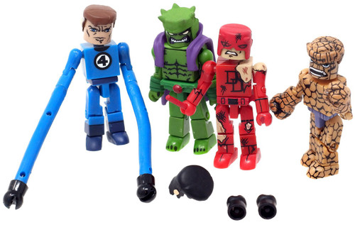 Marvel Daredevil, Mr. Fantastic, Thing & Green Goblin Minifigure 4-Pack [No Package]