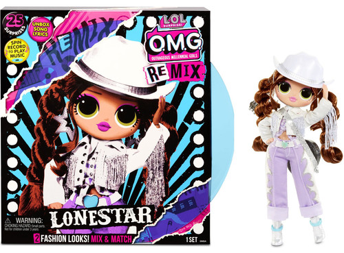 LOL Surprise OMG ReMix Series Lonestar Fashion Doll