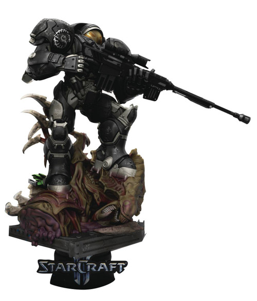 Starcraft D-Stage Jim Raynor Statue DS-069 (Pre-Order ships April)